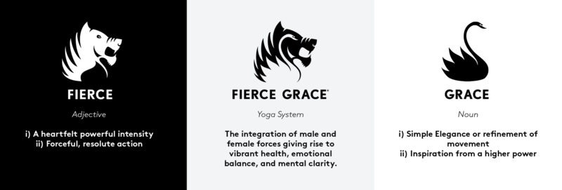 Fierce grace yoga system definition
